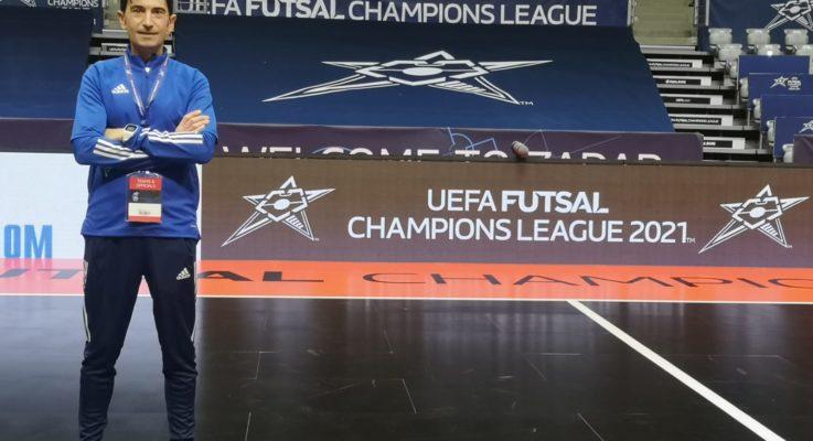 Galante designato per i quarti di finale della UEFA Futsal Champions League