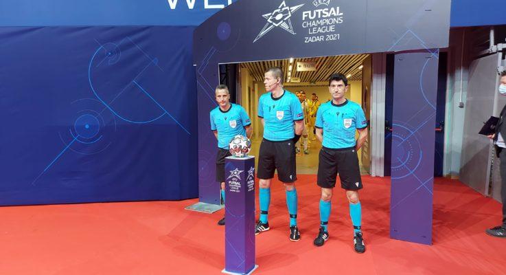 Galante ancora impegnato alle Final Eight di Futsal Champions League
